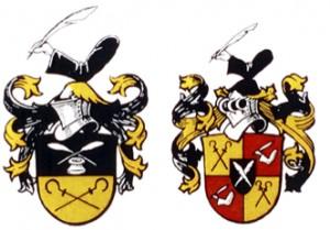 Familienwappen_Wappen 19 Jh
