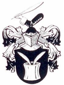 Familienwappen_Wappen mit Tintenfass